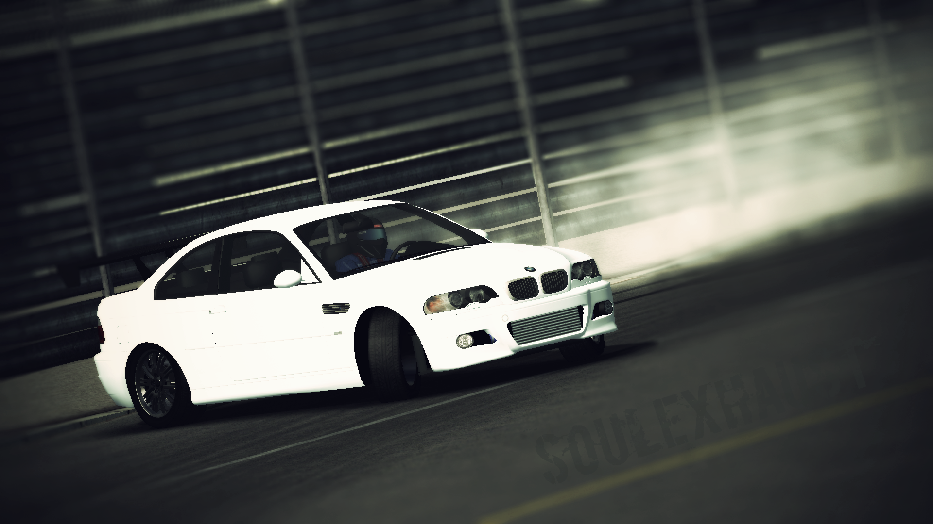 rFactor Drift | Bimmer, sideways! | E46 Preview - Soul Exhaust